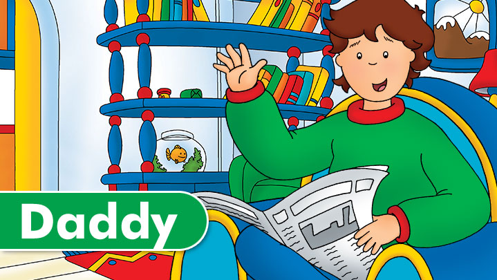 meet daddy caillou presents clip art images presents clipart black and white