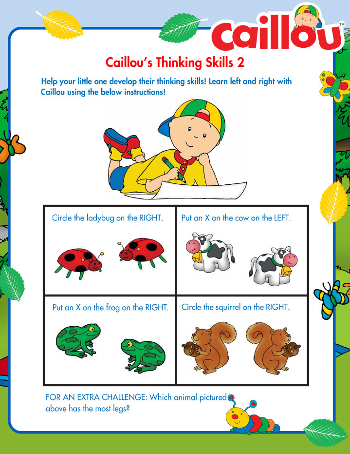 Caillou_SummerLearning_LeftRight2_072016