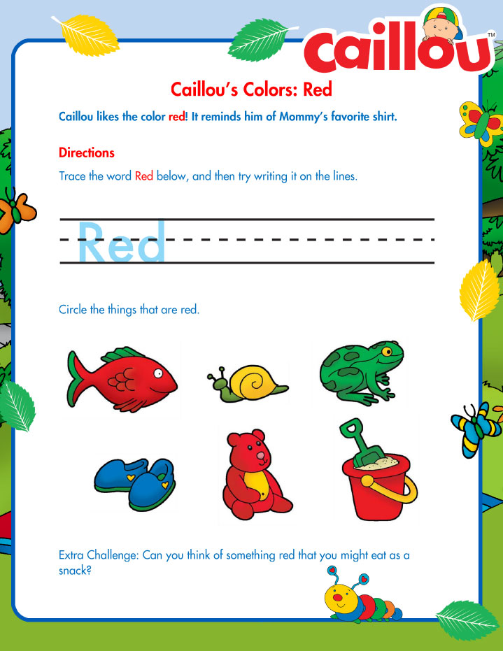 Caillou_SummerLearning_RedWriting_072016
