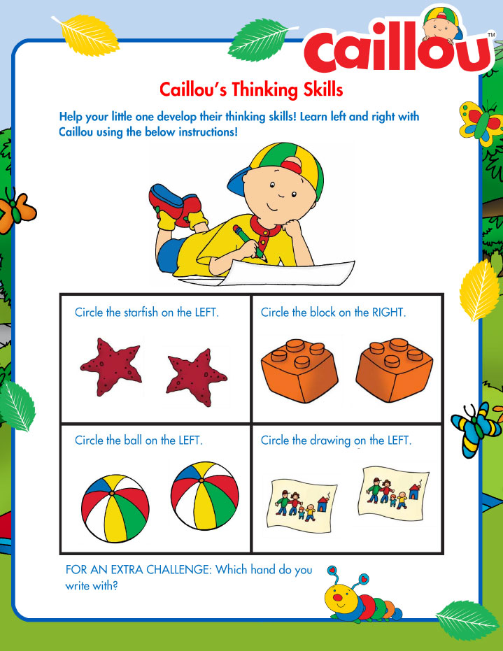 Caillou_SummerLearning_LeftRight_072016