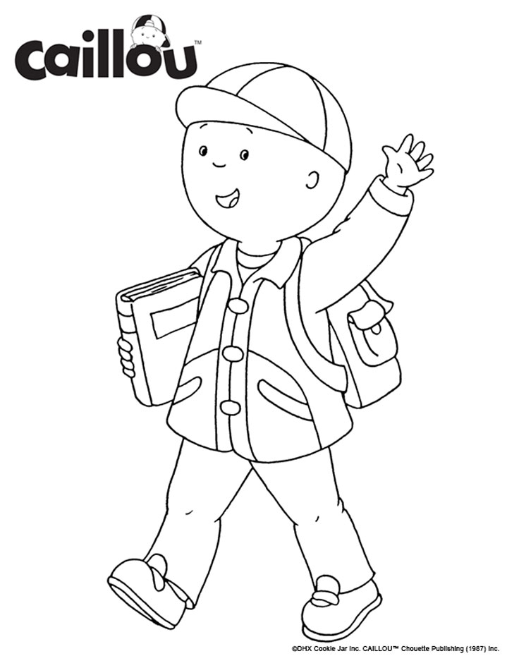 Caillou_Backpack