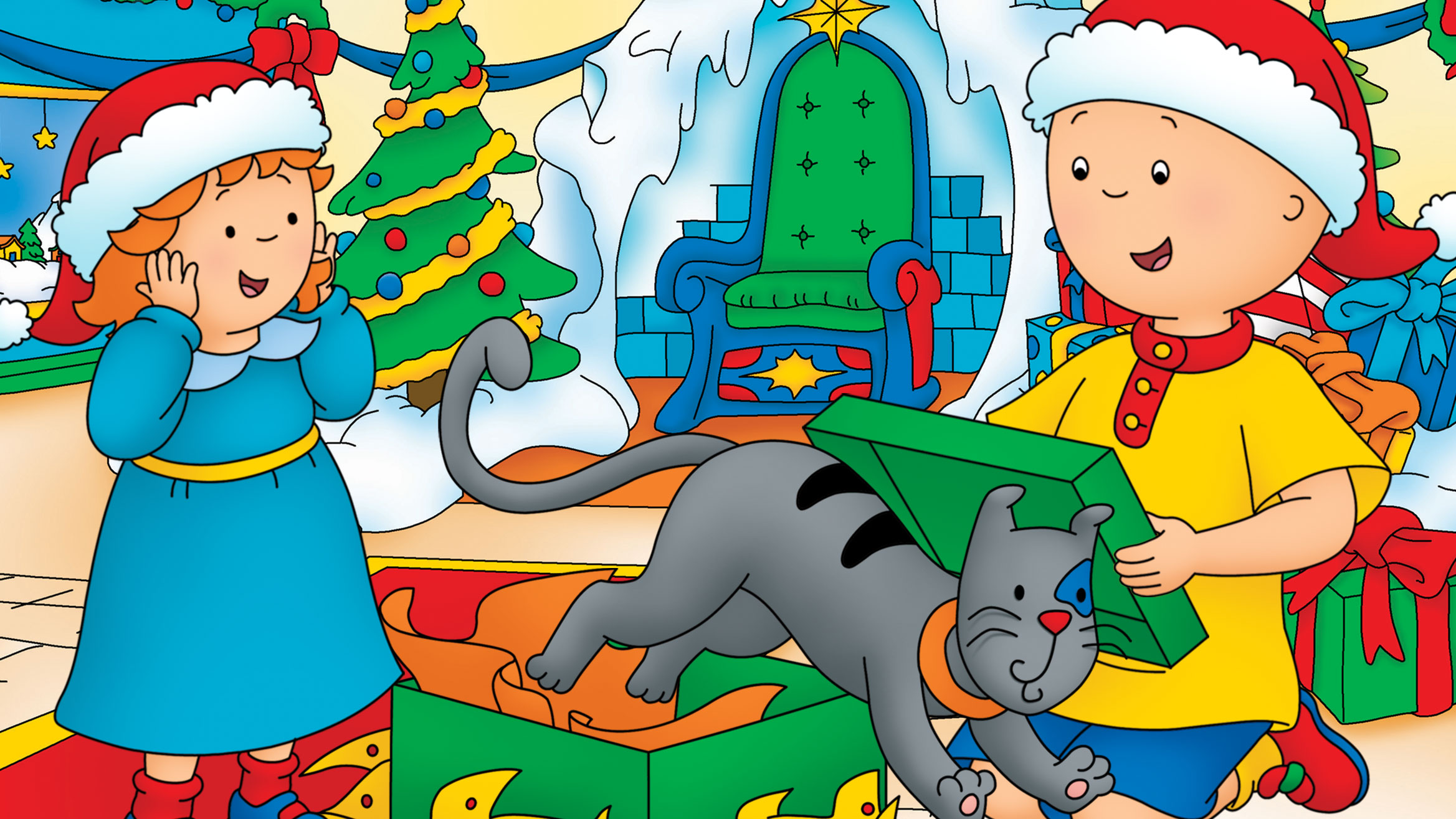 Caillou Celebrates The Holidays with New Caillou Holiday Toy Box Set! post image