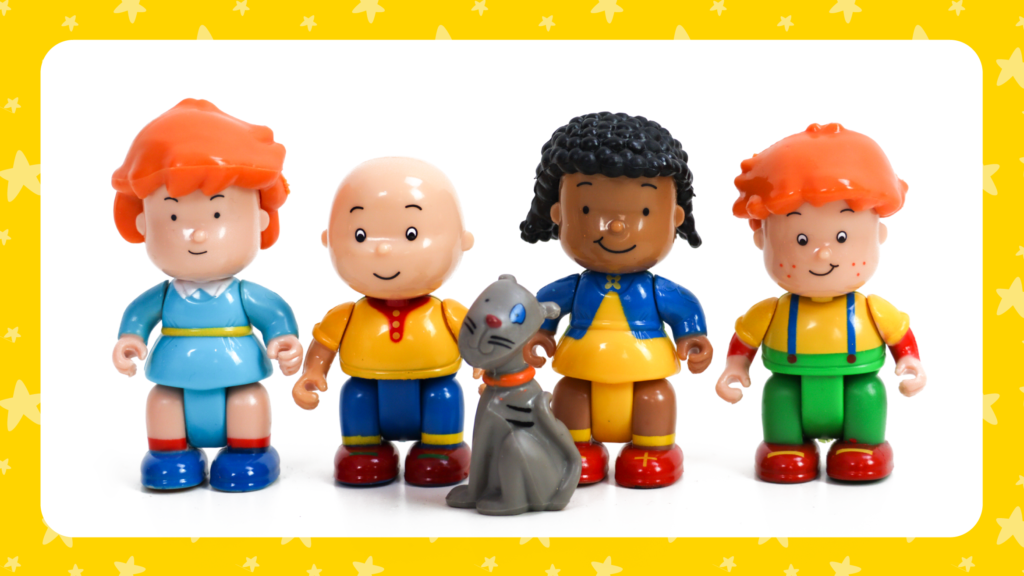 🎄 Make a Christmas Tree for your Caillou Figures! 🎄 post image