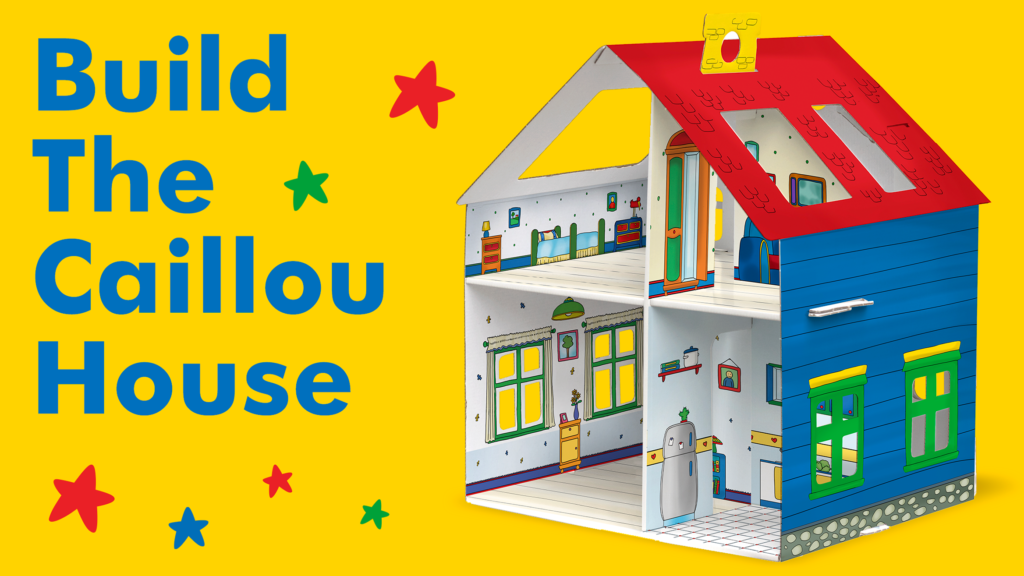 Learn to Build Caillou's Buildable House with an Instructional Video! post image