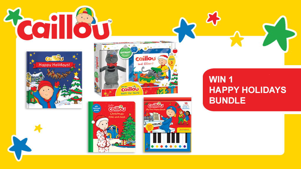 Win a Caillou Happy Holidays Bundle! post image