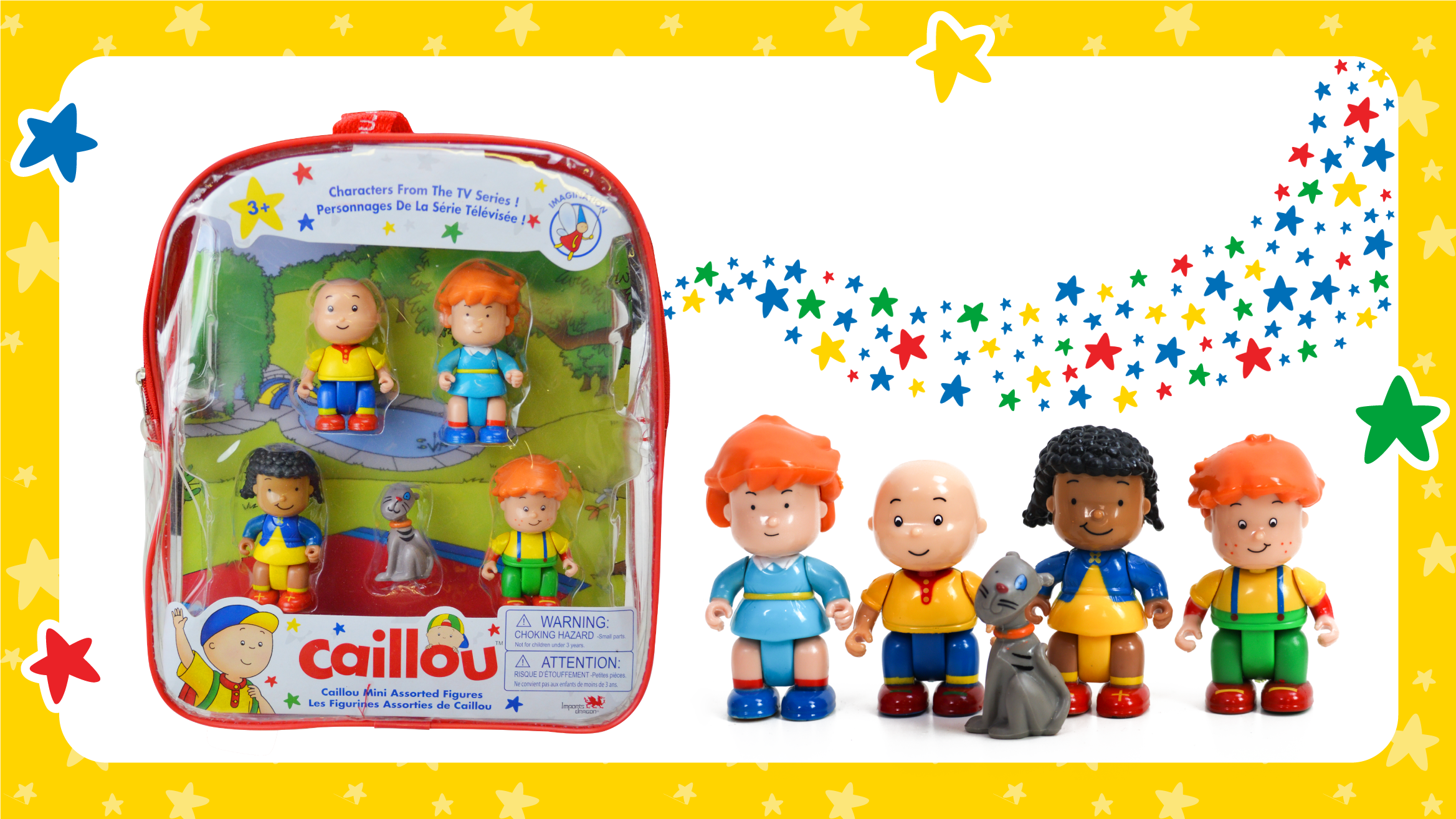 Caillou Mini Backpack with Figures Now Available in the UK! 🇬🇧 post image