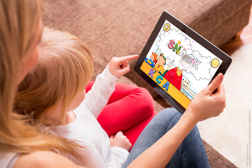 NEW APP! Budge World launches with a World of NEW Caillou games! post image